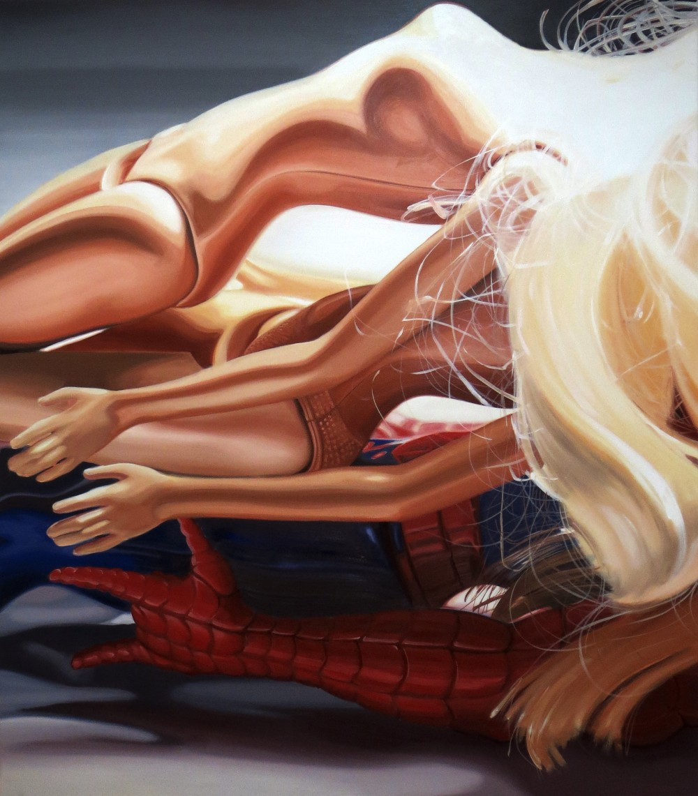 Two Barbies & One Spiderman